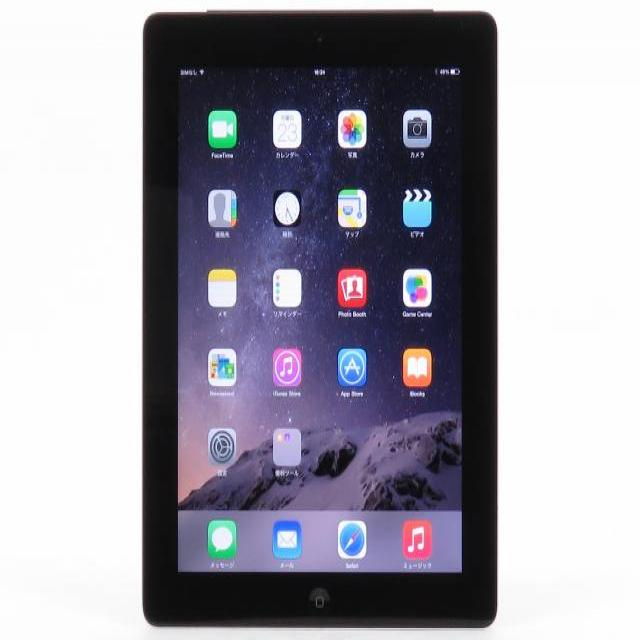iPad ��4���� Wi-Fi + Cellular 16GB �yau�z MD522J/A�y���������z