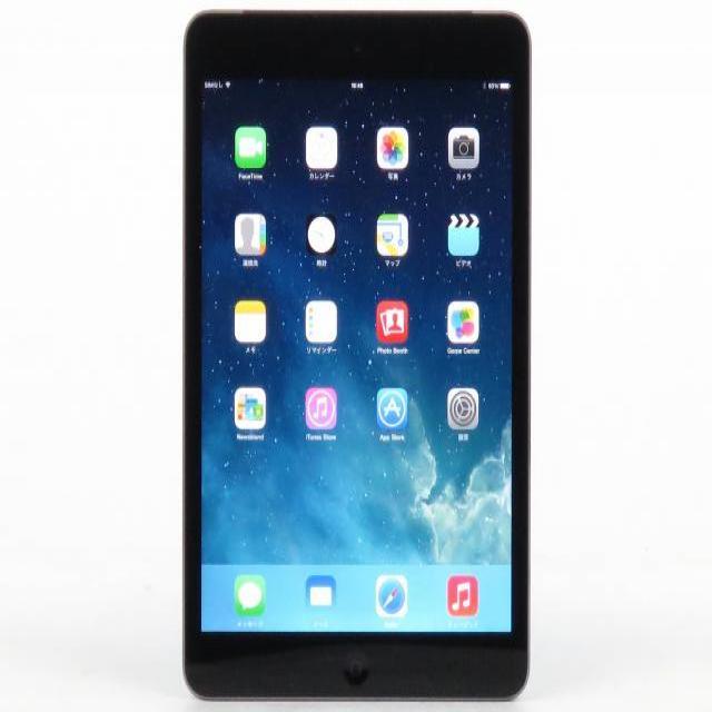 iPad mini2 Wi-Fi Cellular 16GB スペースグレイ 【softbank】 ME800J/A【送料無料】