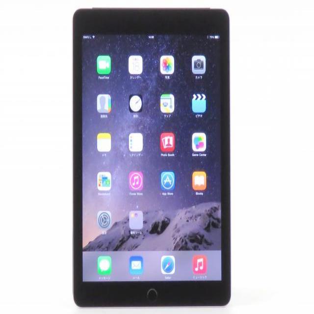iPad Air2 Wi-Fi Cellular 64GB スペースグレイ 【au】 MGHX2J/A【送料無料】